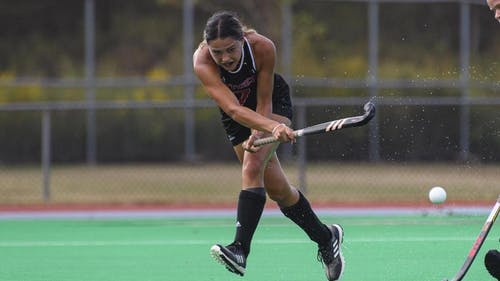 Senior midfielder Tayla Parkes has started the season off with a team-leading 2 goals and looks to add to that total as the Rutgers field hockey team faces a formidable opponent in Syracuse. – Photo by Scarletknights.com