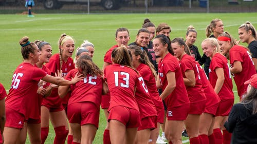 After giving up an early goal to Ohio State, the Rutgers women's soccer team scored twice to defeat their Big Ten rivals 2-1 in Columbus, Ohio. – Photo by Tom Gilbert