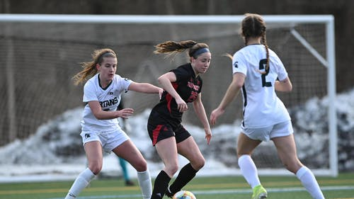 Freshman midfielder Sara Brocious scored the game-winning goal as the Rutgers women's soccer extended its win streak to three games, defeating Ohio State 2-1.  – Photo by Scarletknights.com