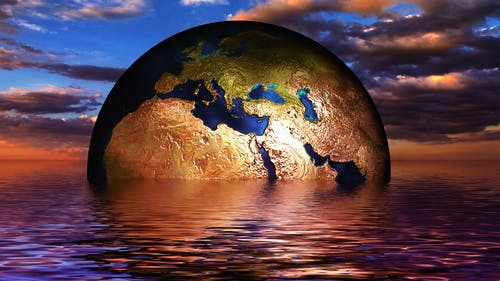 Climate change poses a threat both now and in the future. Luckily, students at Rutgers have a voice. – Photo by Pixabay