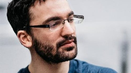 """Dan Salvato, a video game developer most known for creating """"Doki Doki Literature Club!"""", which begins as a dating simulation and shifts into a psychological horror, said the target audience for his game was not only people who liked anime, but those that made fun of it as well. – Photo by Twitter"""