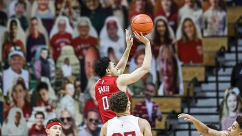 Senior guard Geo Baker will look to build on his strong performance against the Hoosiers. – Photo by Rutgers Men's Basketball / Twitter