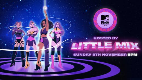 On Nov. 8, the EMAs held stellar performances by female musicians including the host of the night, Little Mix. – Photo by Twitter