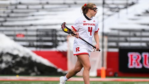 Sophomore defender Meghan Ball and the Rutgers women's lacrosse team are set for a ranked matchup against Maryland. – Photo by Scarletknights.com