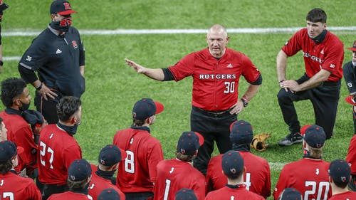 The Rutgers baseball team dropped 2 out of the 3 games it played against Penn State this weekend, bringing its overall record to 9-8.  – Photo by Rutgers Baseball / Twitter