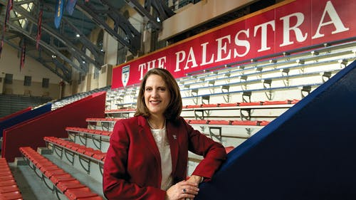 UPenn athletic director Grace Calhoun was a major influence in this decision by the NCAA. – Photo by UPenn.edu