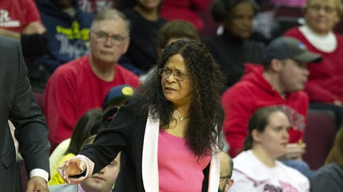 Rutgers head women's basketball coach C. Vivian Stringer will look to lead the Knights into the National Collegiate Athletic Association (NCAA) Tournament this year. – Photo by Benjamin Chelnitsky