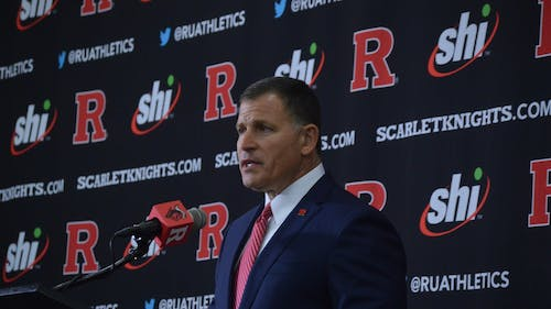 Greg Schiano said the updates on Livingston campus and on the College Avenue campus will help the school seem more attractive to potential football recruits.