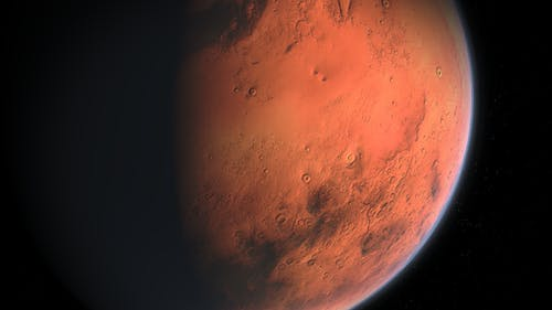 The researchers analyzed Mars datasets and concluded that geothermal heat could have led to subsurface melting, leading to liquid water deeper within the planet.  – Photo by Needpix