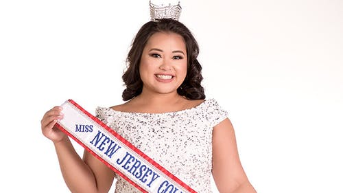 Caitlin Uriarte, a School of Public Health graduate student, said she has been able to work with various underserved communities throughout New Jersey and help multiple breast cancer awareness organizations throughout her time as Miss New Jersey Collegiate USA so far. – Photo by Courtesy of Caitlin Uriarte