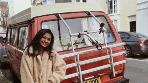 """Manasa Aechuri is a Rutgers student that is also the creator and host of the podcast """"Do Something."""" The student has amassed over 8,000 followers on her Instagram. – Photo by Instagram"""