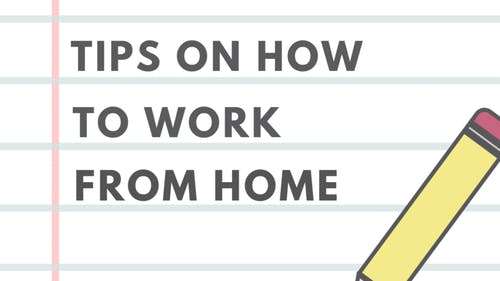 Many students have never taken online classes and usually don't work from their homes. Amid a global pandemic, tips for working from home are useful. – Photo by Kelly Carmack