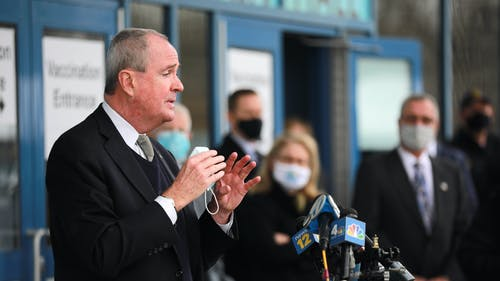 Gov. Phil Murphy (D-N.J.) said individuals who made an appointment to receive the first dose of the coronavirus disease (COVID-19) vaccine through the state's scheduling system will automatically be rescheduled for their second dose. – Photo by Gov. Phil Murphy / Twitter