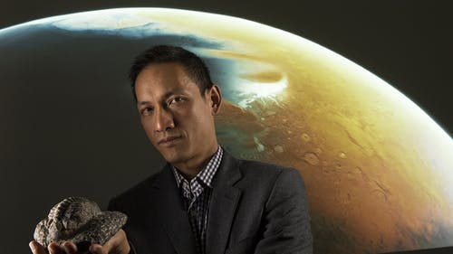 Nathan Yee, astrobiologist and professor in the Department of Environmental Sciences, said this discovery gives enough scientific justification for future NASA missions to explore the atmosphere of Venus and it's phosphorus cycle. – Photo by Rutgers.edu