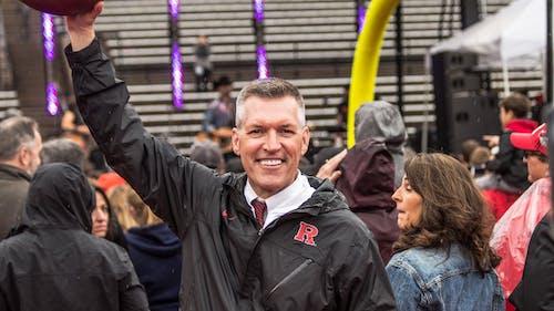 Rutgers Athletics Director Pat Hobbs said he views academic success at Rutgers University as a high priority. – Photo by Pat Hobbs / Twitter