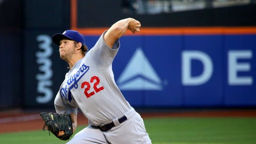 Los Angeles Dodgers pitcher Clayton Kershaw threw six innings, allowing two hits and one run while tallying eight strikeouts. – Photo by Wikimedia