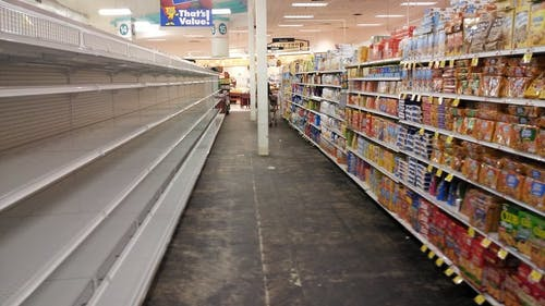 Employees and shoppers at grocery stores will now be required to wear face masks, and stores can only let a small number of people in at a time. – Photo by Flickr