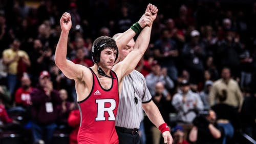 Anthony Ashnault was announced as an assistant coach for the Rutgers wrestling team, rejoining the program where he won a national championship in 2019. – Photo by Scarletknights.com