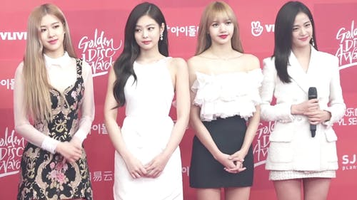 """Blackpink is a K-pop group consisting of Rosé, Jennie, Lisa and Jisoo. Their first debut album, simply titled """"The Album,"""" was released in early October.   – Photo by Wikimedia"""