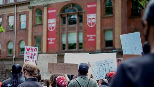 Protests can be an agent of change in a democracy, but partisan politics threaten to dilute their meaning and weaken their impact. – Photo by Photo by Salma HQ | The Daily Targum