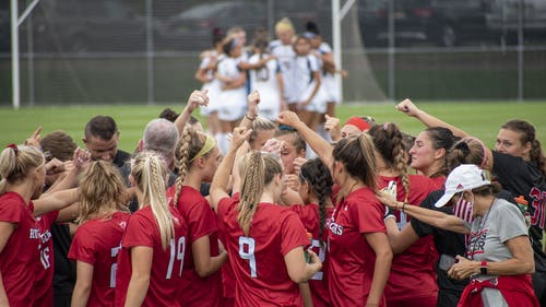 The Rutgers women's soccer team looks to continue its stretch of good play as it faces off against Minnesota tonight.  – Photo by Tom Gilbert