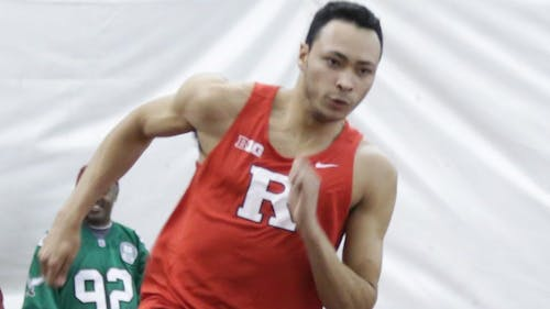 Sophomore sprinter Izaiah Brown is the winner of the first ever Rutgers Roundup Athlete of the Week after repeating as Big Ten champion in the 400m dash with a conference and program-record time of45.38 seconds.