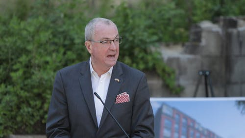 Gov. Phil Murphy (D-N.J.) said the state will continue to monitor coronavirus disease (COVID-19) data and will lift the school mask mandate when it is deemed safe. – Photo by Governor Phil Murphy / Twitter