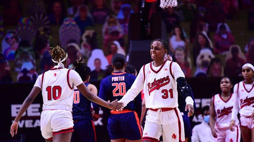 Senior forward Tekia Mack provided five steals as the Rutgers women's basketball team improved its winning streak to five games with a victory over Illinois. – Photo by Rutgers University Athletics / Twitter