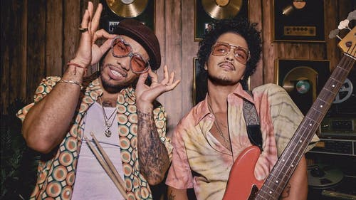"After much anticipation, rhythm and blues soul singer Bruno Mars and rapper Anderson .Paak have finally joined forces as ""Silk Sonic"" and released their first track together on March 5, titled ""Leave The Door Open."" – Photo by Anderson Paak / Instagram"