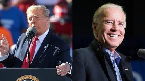 Former Vice President Joe Biden said it is important to be patient as vote-by-mail ballots are being counted, while President Donald J. Trump said he will seek out the Supreme Court to stop the process.  – Photo by Wikimedia