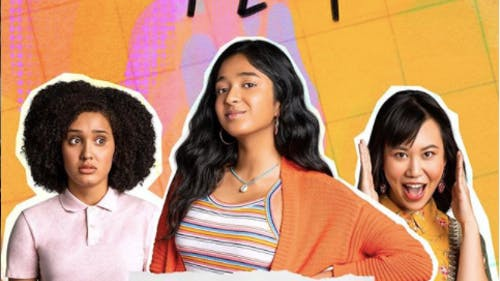 """Actresses Maitreyi Ramakrishnan (Devi), Lee Rodriguez (Fabiola) and Ramona Young (Eleanor) star in the new Netflix show """"Never Have I Ever."""" – Photo by Instagram"""