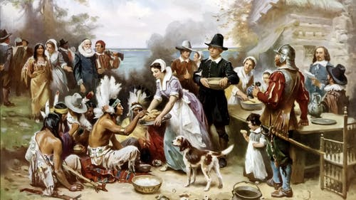 Thanksgiving is celebrated every last Thursday in November in America, but there are racist origins to the holiday.  – Photo by Wikimedia