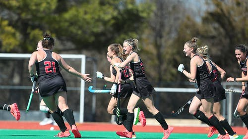 The Rutgers field hockey team dropped both games in its first meetings with Michigan this season.  – Photo by Rutgers Women's Field Hockey / Twitter