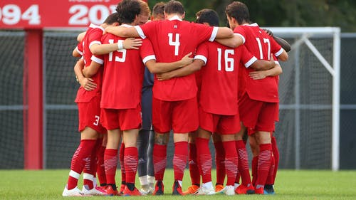 Despite multiple opportunities to score in the second half, the Rutgers men's soccer team was held to a 0-0 draw against Temple on Monday night.  – Photo by Rutgers Men's Soccer / Twitter