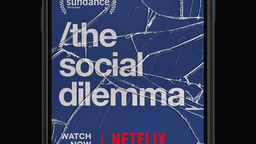 """""""The Social Dilemma"""" is a Netflix documentary exposing the harmful effects of social media.  – Photo by Twitter"""
