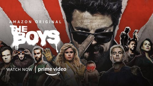 """The Boys"" is streaming now on Amazon Prime Video. Many people have noticed that the show is a paradoy of popular superhero entertainment.  – Photo by TheBoysTV / Twitter"