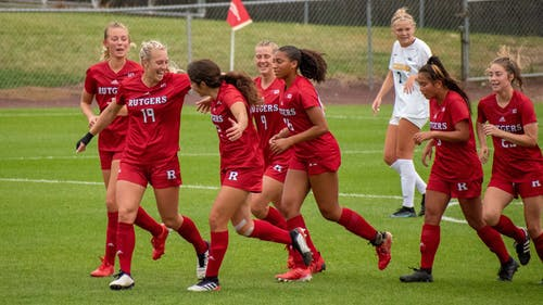 The Rutgers women's soccer team looks to remain perfect in Big Ten play as it faces Iowa in a Sunday matinee.  – Photo by Tom Gilbert