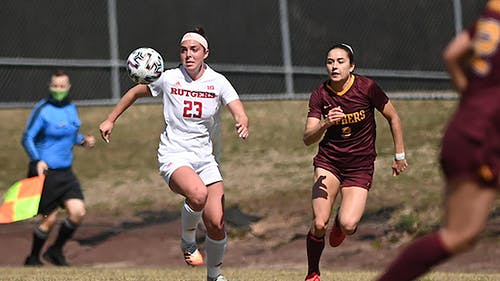 Freshman midfielder Julianne Leskauskas scored her first career goal as the Rutgers women's soccer team defeated Minnesota 1-0 in its matchup yesterday. – Photo by Scarletknights.com