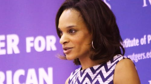 Race relations are important to the 2016 presidential elections, said Nia-Malika Henderson, a senior political reporter for CNN. – Photo by Edwin Gano