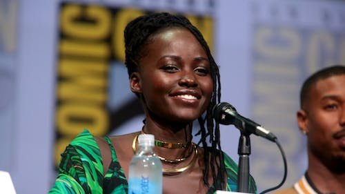 """Actress Lupita Nyong'o plays the character Adelaide Wilson in the movie """"Us."""" In the film, she returns to her childhood home in Santa Cruz but is later attacked by four people who look exactly like her and her family. – Photo by Flickr"""