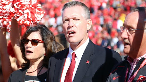 Athletic Director Pat Hobbs said Rutgers has been asked by the Big Ten to play one Friday night game starting in 2017 and extending through the 2022 season. The Big Ten announced Wednesday that it will be playing six Friday night games per season during the months of September and October. – Photo by Dimitri Rodriguez