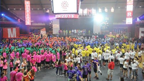 This year's Dance Marathon event will be held in the form of a virtual live stream and will continue to maintain its focus of bringing Rutgers community members together to support the Embrace Kids Foundation.  – Photo by The Daily Targum