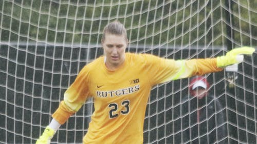 Sophomore goalkeeper Casey Murphy recorded a career-high eight saves in the game last year on the road at Indiana. – Photo by Photo by Edwin Gano | The Daily Targum