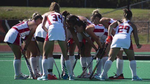 The Rutgers field hockey team continued its top 10 season, defeating Indiana 1-0 with a late game-winning goal in Piscataway.  – Photo by Emma Garibian