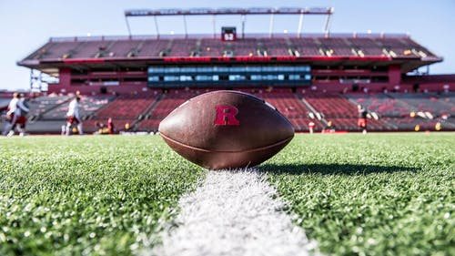In preparation for its opening game on Thursday night against Temple, the Rutgers football team announced the six players selected as captains for the 2021 season.   – Photo by Scarletknights.com