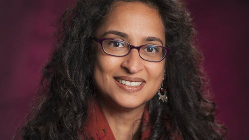 Deepa Kumar, president of the American Association of University Professors-American Federation of Teachers, said that the current budget takes away from the University's educational mission and gives students greater debt to subsidize. – Photo by Rutgers.edu