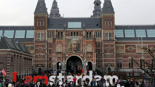 The Rijksmuseum in Amsterdam holds some of the most famous Dutch artists in the world, including Rembrandt van Rijn.