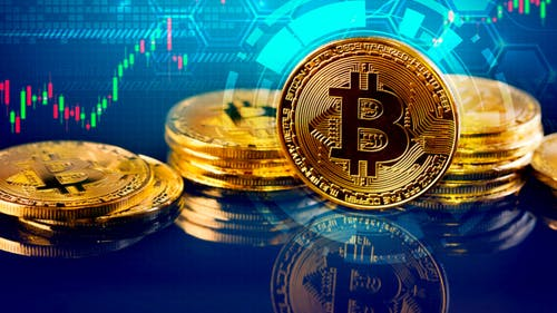 Bitcoin, which was first created in 2009, is a popular type of cryptocurrency, meaning it is traded virtually. Since bitcoin is decentralized, there is no government or bank that controls its value and how it is used.  – Photo by Flickr
