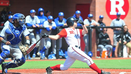 Junior right fielder TomMarcinczyk was one of three Knights to be named to the Big Ten Players to Watch list. Marcinczyk was named to Third Team All-Big Ten last season after hitting .325 at the plate. – Photo by The Daily Tagum