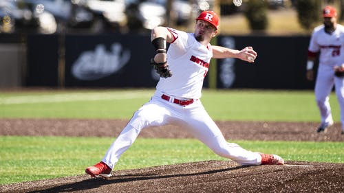 Harry Rutkowski has become the latest Rutgers baseball player to sign a professional contract, as the left-handed pitcher signed with the Toronto Blue Jays to play minor league baseball.  – Photo by Mike Lawrence / Scarletknights